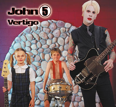 John 5 Vertigo CD Cover