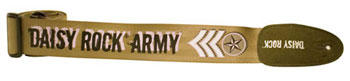 Daisy Rock; Guitar Strap; Daisy Rock Army