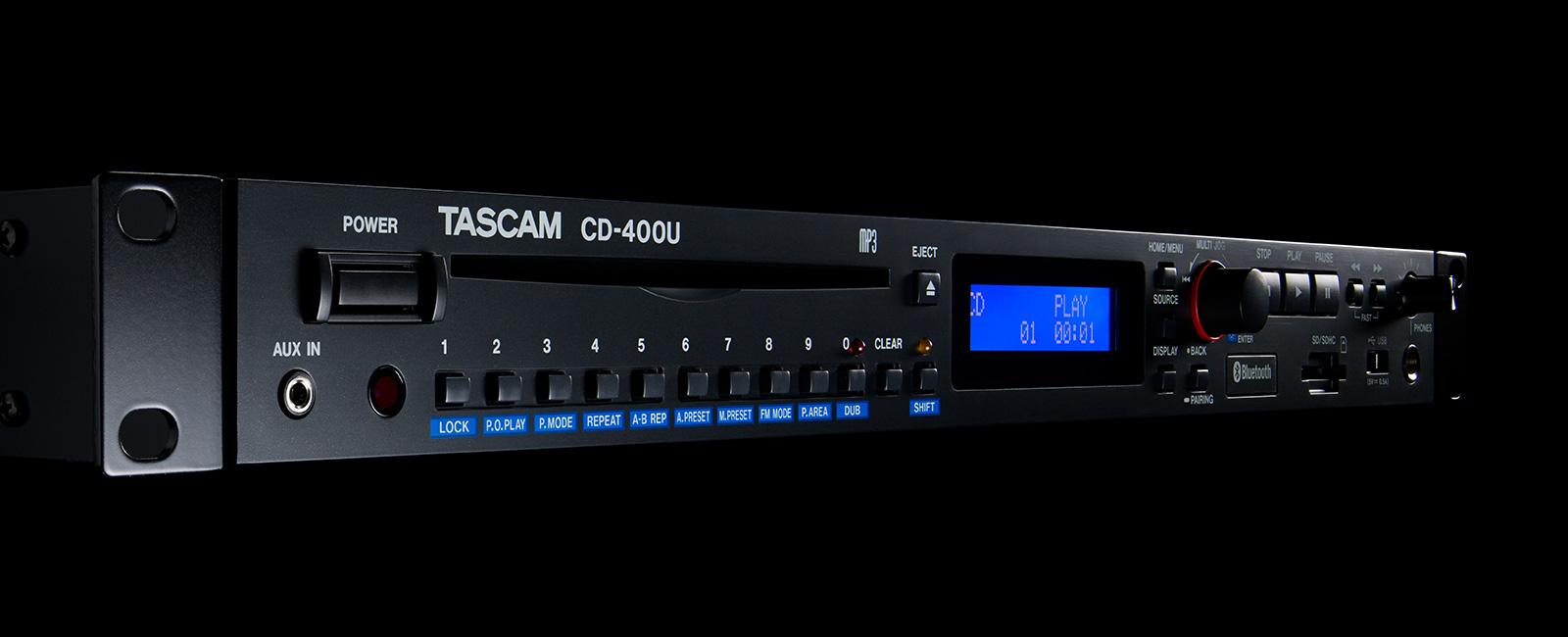 CD-400U | 製品トップ | TASCAM ...