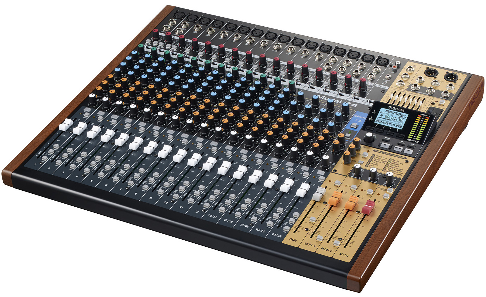Review: Tascam Model 24 Multi-Track Live Recording Console