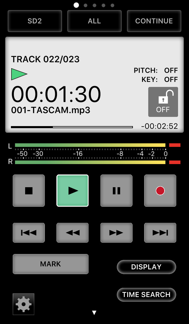 TASCAM SS250 CONTROL