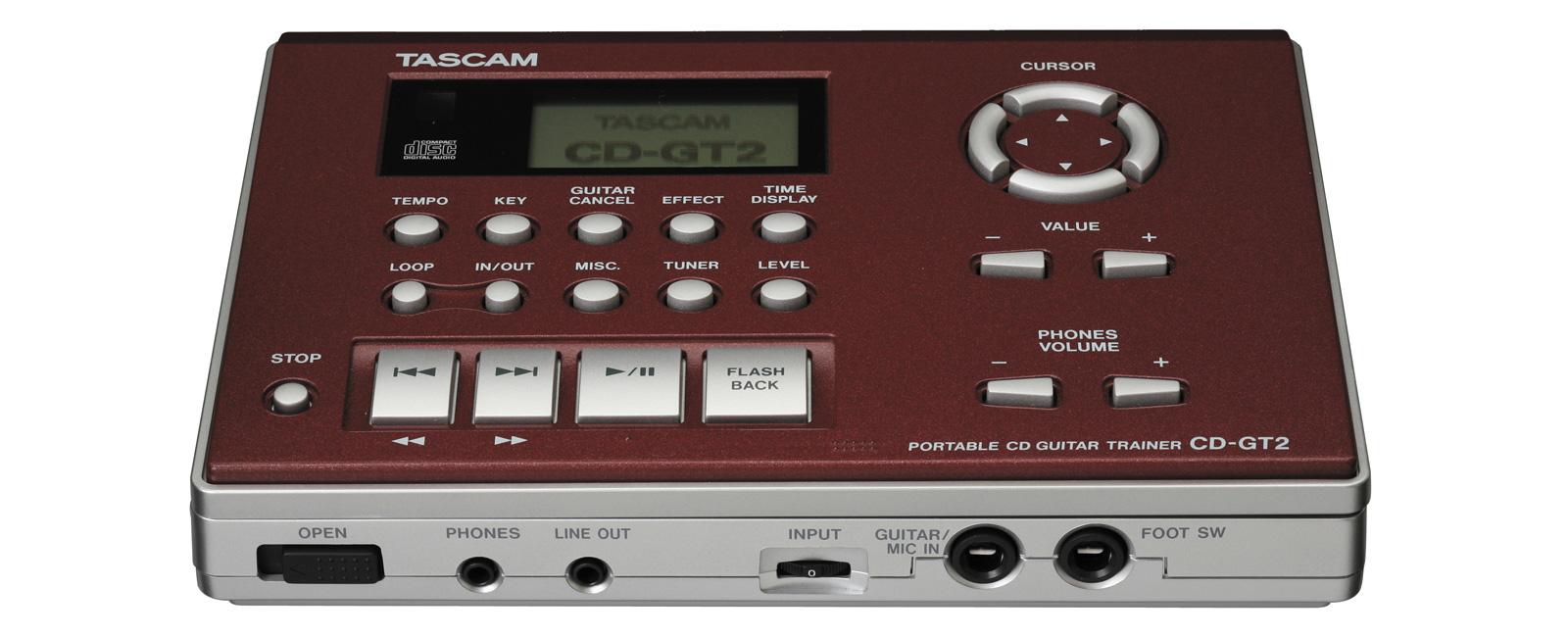 CD-GT2 | 製品トップ | TASCAM (日本)