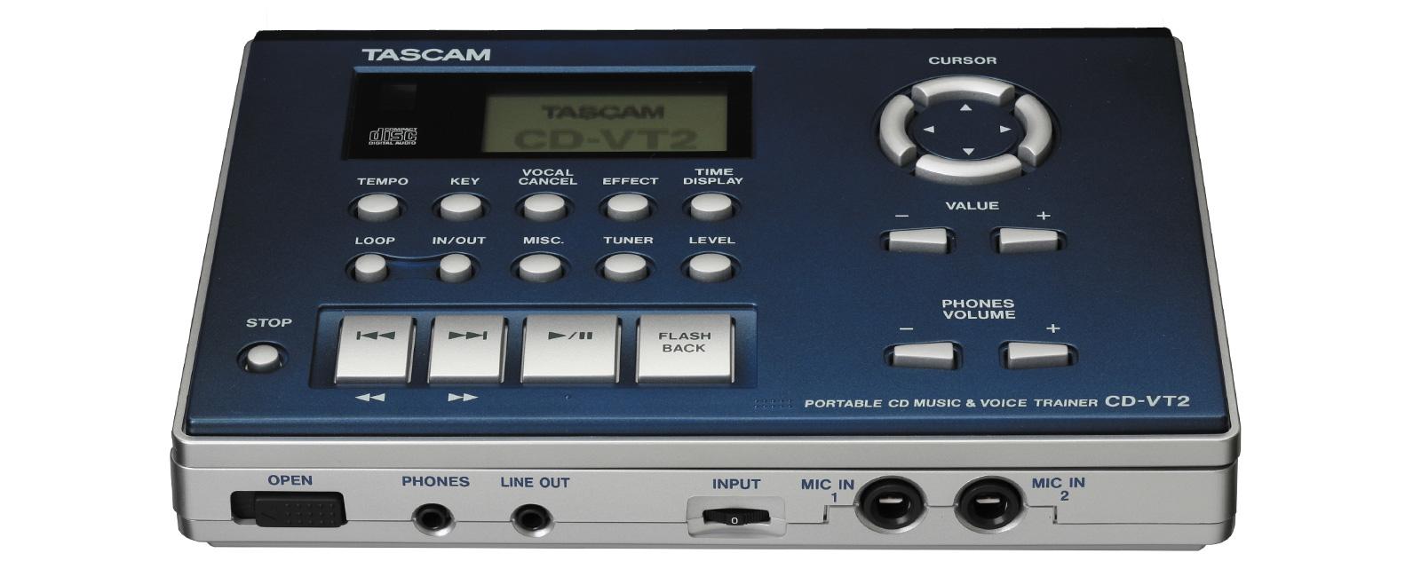 CD-VT2 | 製品トップ | TASCAM (...