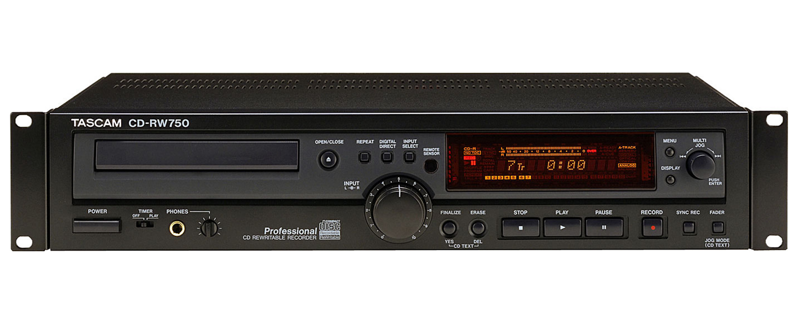 CD-RW750 | 製品トップ | TASCAM...