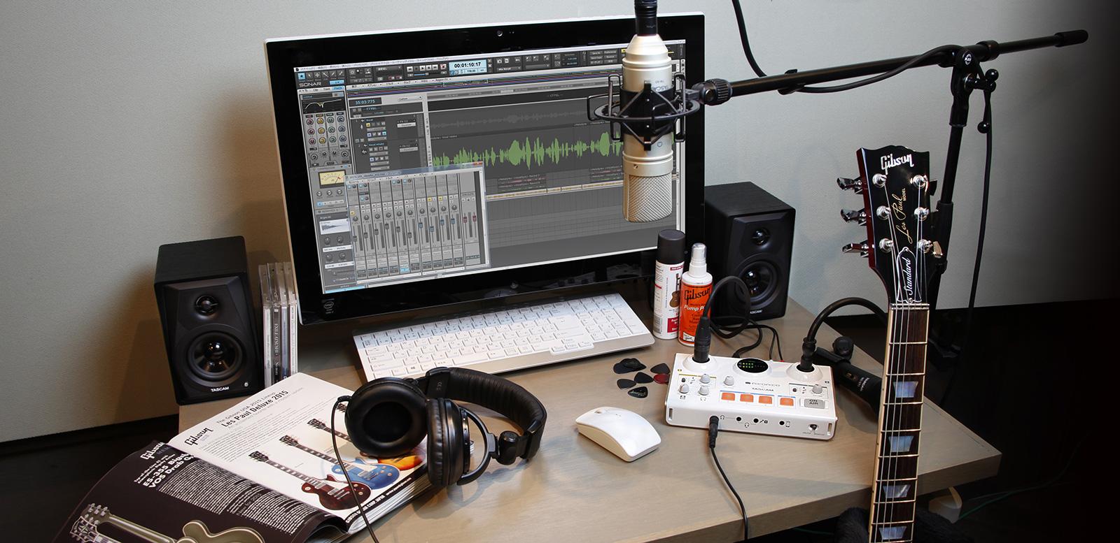 MiNiSTUDIO  - ממשקי קול ייעודיים לשידור ולדור האינטרנט מ- TASCAM