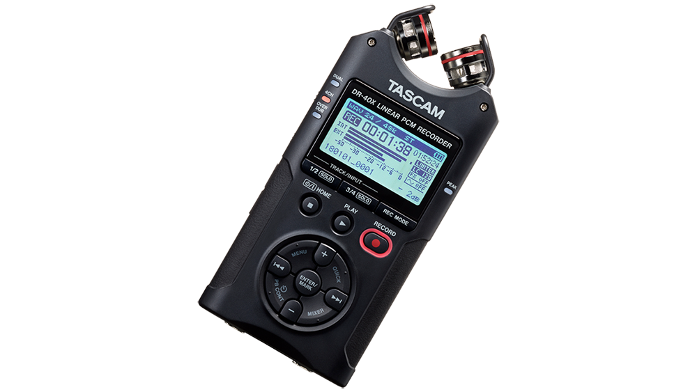 HANDHELD & AUDIO-FOR-VIDEO DIGITAL RECORDERS